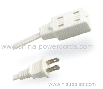 Indoor use 2-conductor Extension cords
