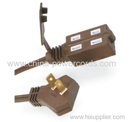 Indoor use 2 wiresr Extension cord