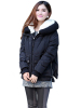 Fashion Women Winter High Quality Solid Hooded Coat