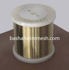 High performance EDM semihard wire