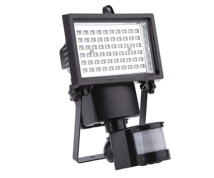 60 LED Security Bright Outdoor Solar Wall Light