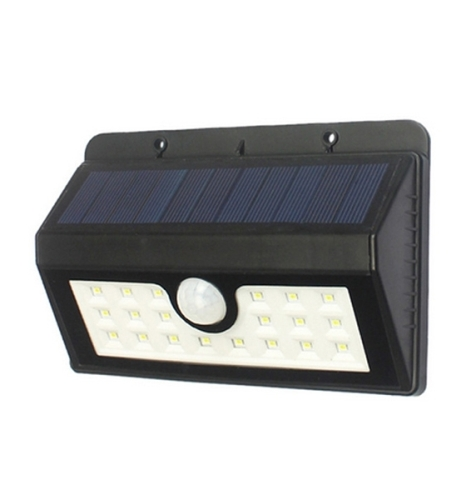 20 LED 2200mAh Solar LED Garden Wall Lights