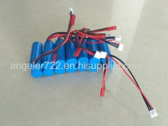7.4v li-ion battery pack li ion battery 7.4v 1100mah high power RC airplane battery