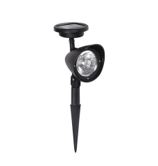 4 LED 600mAH Outdoor Lawn Solar LED Garden Light