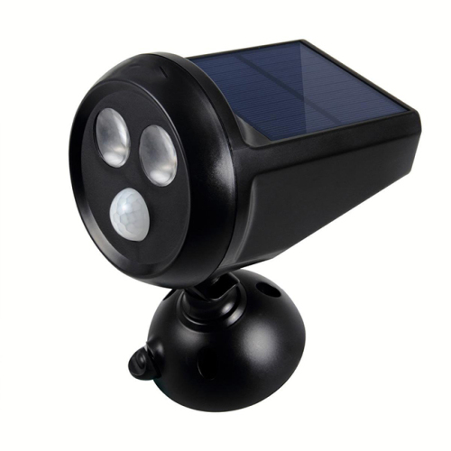 2 LED 2000mAh Motion Sensor Outdoor Solar Garden Lights