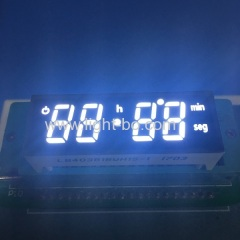 Ultra bright white Custom 7 segment led display for oven timer control