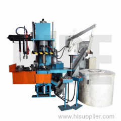 Automatic rotor die casting machine