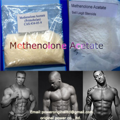 Muscle Building Steroid Powder Chemical Raw Material Hormone Me-thenolone Acetate