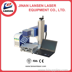 Easy Transport New Style Mini CO2 RF laser marking machine for Nometal marking with high speed