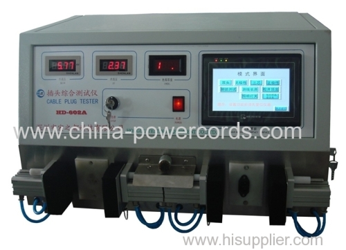 Power Plugs Integrated Tester