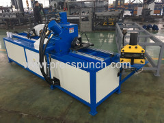 auto duct angle flange punching machine