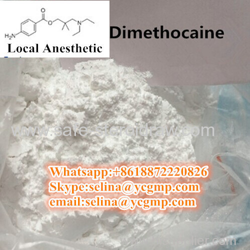 Safe Shipping Stronger Local Anesthetic Powders Dimethocaine Larocaine