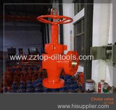"""API Choke valve 3 1/16"""" x 10000psi H2 choke valve"""