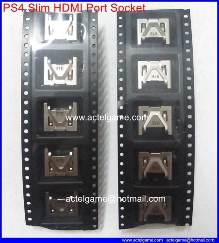 PS4 slim HDMI port socket repair parts manufacturer from