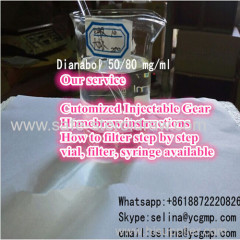 Anabolic Steroid Oral Suspension Dbol Dianabol 50/80 mg/ml