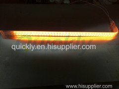 Infrared furnace twin tube infrared heater lamps