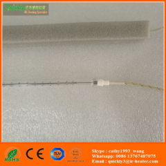 quartz infrared heating lamp for food warming