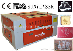 Small Size 50W Wood Laser Engraving Machine for Your Use