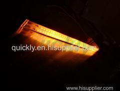 Golden twin tube short wavelength IR emitter