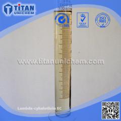 Lambda-cyhalothrin 2.5EC 5EC 10EW 10CS 10WP Warrior CAS 91465-08-6