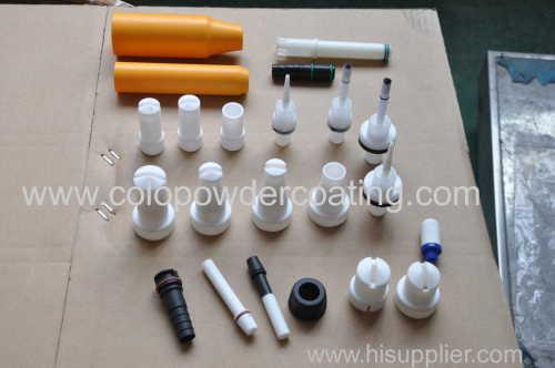 powder spray gun spare part