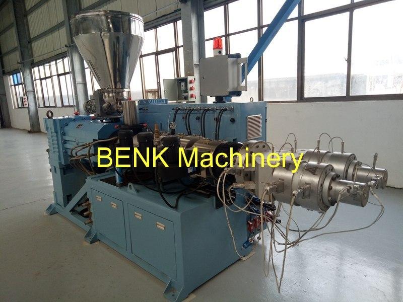 linha de extrusão de tubos de pvc --zhangjiagang co cidade Benk máquinas., ltd.
