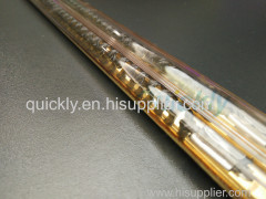 Energy saving with gold reflector infrared heaters