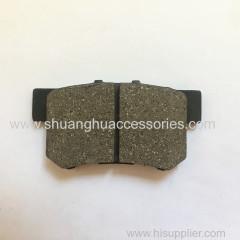 Brake pads for Honda auto car-Semi metal-ISO9001:2008