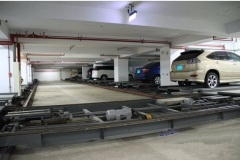 PPY single-level horizontal rotary automated parking system