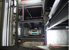 PPT automatic multi-level rotary parking system