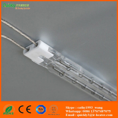 quartz tube infrared heating lamps