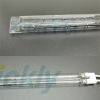 Twin tube shortwave quartz halogen heaters