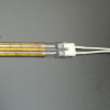 Gold reflector twin tube infrared heater lamps