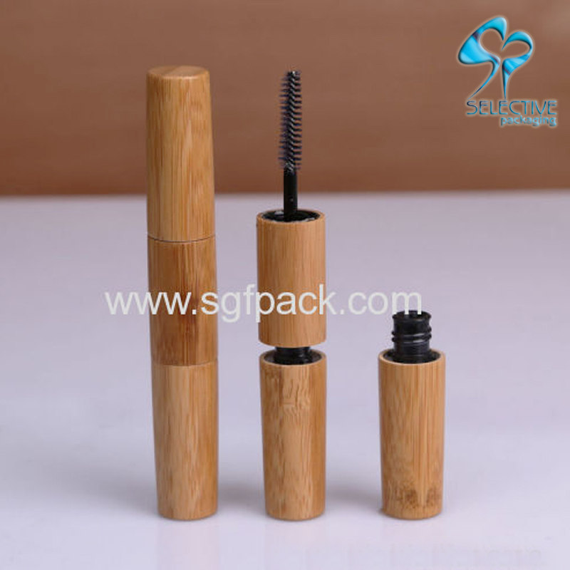 Double head bamboo mascara tube