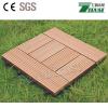 Indoor /Outdoor DIY Solid Red Wood Floor Tile and WPC/Wood Plastic Composite Decking