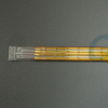 quartz glass twin tube heating lamp