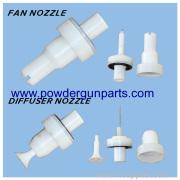 Parker Ionics Powder Coating Nozzles