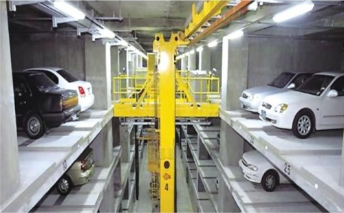 Intelligent car stack parking equipment