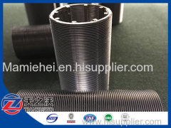 Top Quality Wedge Wire Screen Filter For Chromatographic Separation In Starch Industry