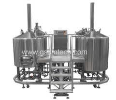 sistema de fabricación de la cerveza artesanal de cervecería