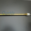 quartz ir heater with gold reflector