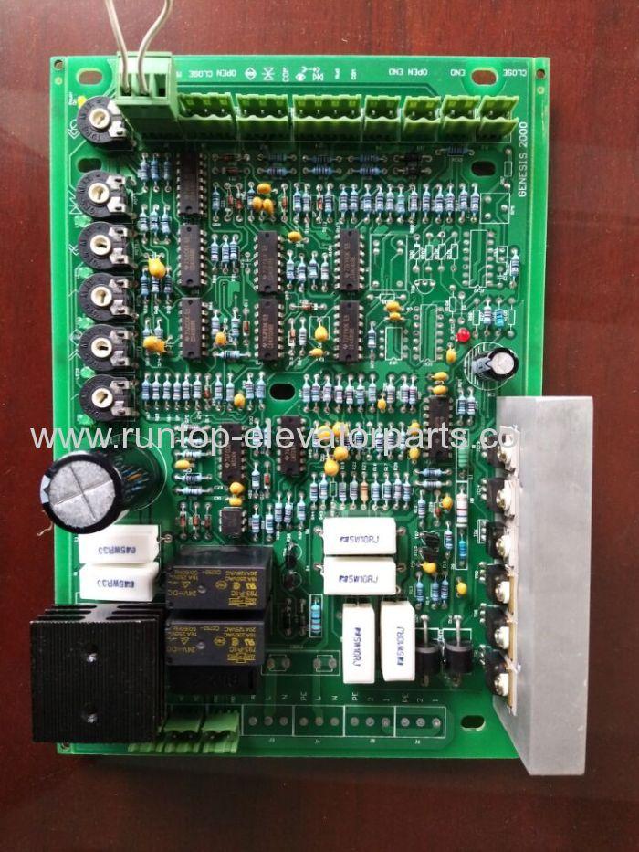Wittur door controller PCB GENESIS 2000 for elevator parts