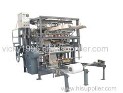 Gauze Sponge Folding Machine with folded edge