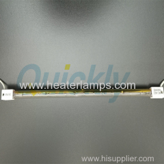 Fast firing Single tube infrared lamps