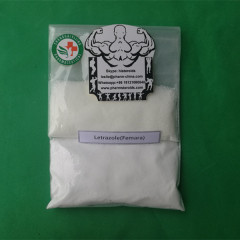 Raw Hormone Powders Letrazole Femara For Muscle Growth 112809-51-5