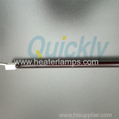 Clear tube quartz infrared heater lamps