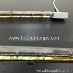 Shortwave thermal infrared heating tube