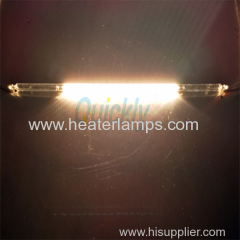 Welding use transparent shortwave quartz heater