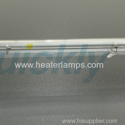 Autoclave heating element quartz emitter