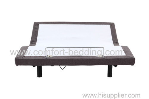 Folding adjustable bed knock down bed UPS ship bed